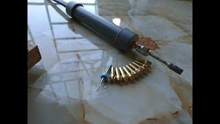 Chế dây truyền động từ dây công tơ mét - chế khoan dây từ mô tơ 840