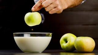 Я просто взял молоко и яблоки... Десерт, в который влюбилась моя семья!