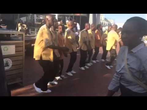Bailes típicos en Ciudad del Cabo III - Sudáfrica
