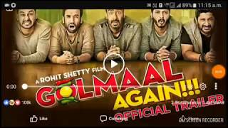 golmaal again returns / trailor /teaser /full movie release on this diwali 2017 full hd rewiew
