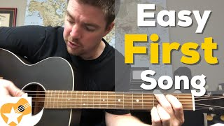 Easy First Song for Someone Learning Guitar | Country Music