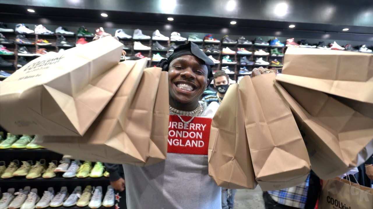 DaBaby SPENDS $10,000 Shopping For Sneakers With CoolKicks