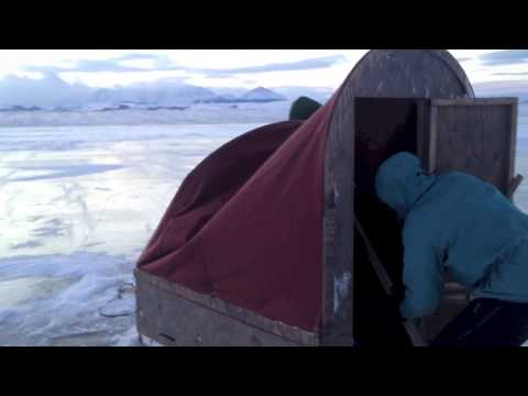 Ice fishing duck lake 2012 13 youtube for Montana out of state fishing license
