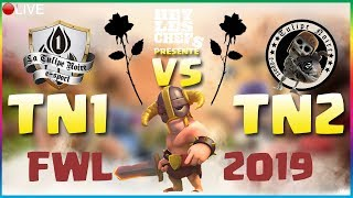 🦁CLASH OF CLANS - 20H15, LA TULIPE NOIRE VS LA TULIPE NOIR2 (FWL) GDC 20 VS 20 FULL TH12 (2/3)
