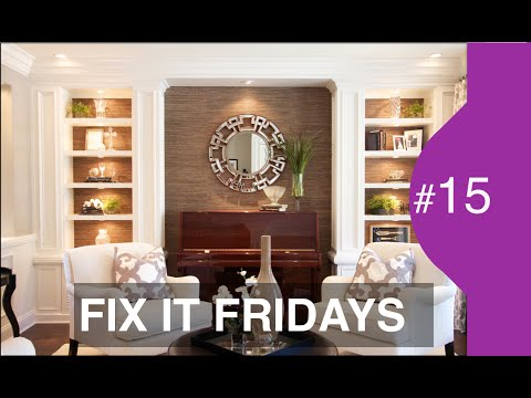 Interior Design | Beautiful Living Room Makeover | FIF # 15