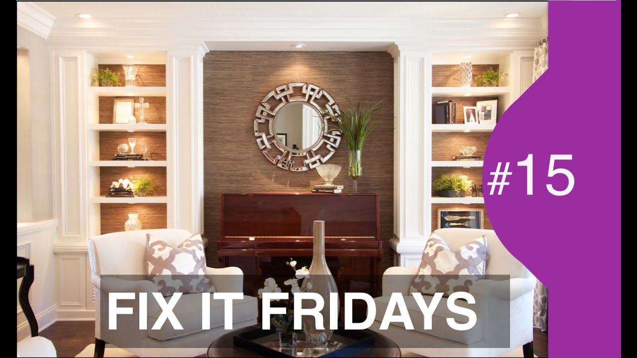 Small Living Room Decorating Ideas | Interior Design | Fix It Fridays #15