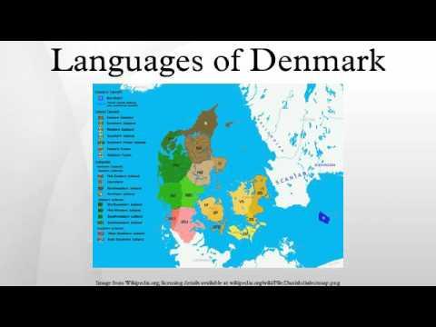 Languages of Denmark
