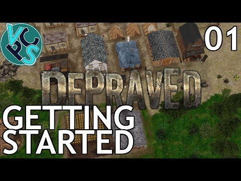 Depraved EP01 – Wild West City Builder – First Look Pre-Release Early Access