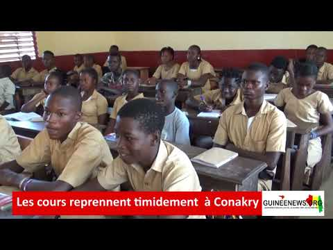 Grève du SLECG à Conakry : Réactions croisées des élèves, des enseignants et chefs d'établissement