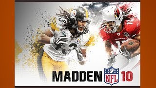 Madden 10 Gameplay Cardinals Steelers PS3 {1080p 60fps}