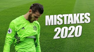 Worst Goalkeeper Mistakes In Football 2020