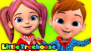 Палуба Залы   детская песня   потешки   Little Treehouse Russia   мультфильмы для детей