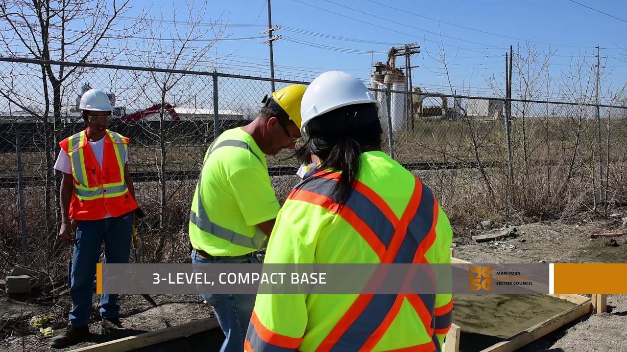 Preparation: Residential Concrete Flatwork Technician course