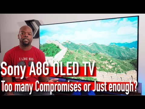 Sony A8G 2019 OLED TV Review | A Lesson in compromise [4K HDR]