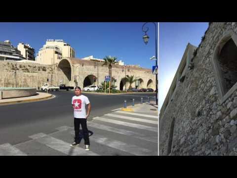 Heraklion Crete GREECE  🇬🇷 Tour Vlog.