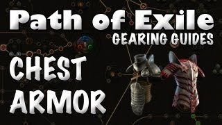 Path Of Exile Gearing Guide: Chest Armor (how To Identify A Good Chest Piece)