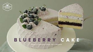 블루베리 젤리가 쏙~ 블루베리 생크림 케이크 만들기 :…