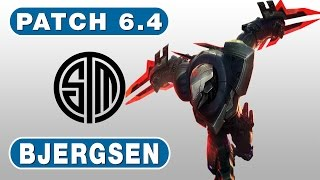 33. TSM Bjergsen - Zed vs Singed - MID - February 28th, 2016 - Season 6 Patch 6.4