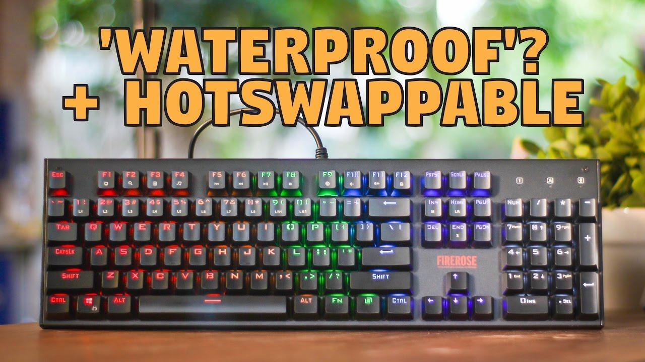 83c7473a865 1st Player Firerose MK3 Mechanical Keyboard - Unboxing & Review ...