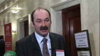 Stanislav Arzhevitin, Verkhovna Rada of Ukraine speaking at the Ukrainian Banking Forum 2009