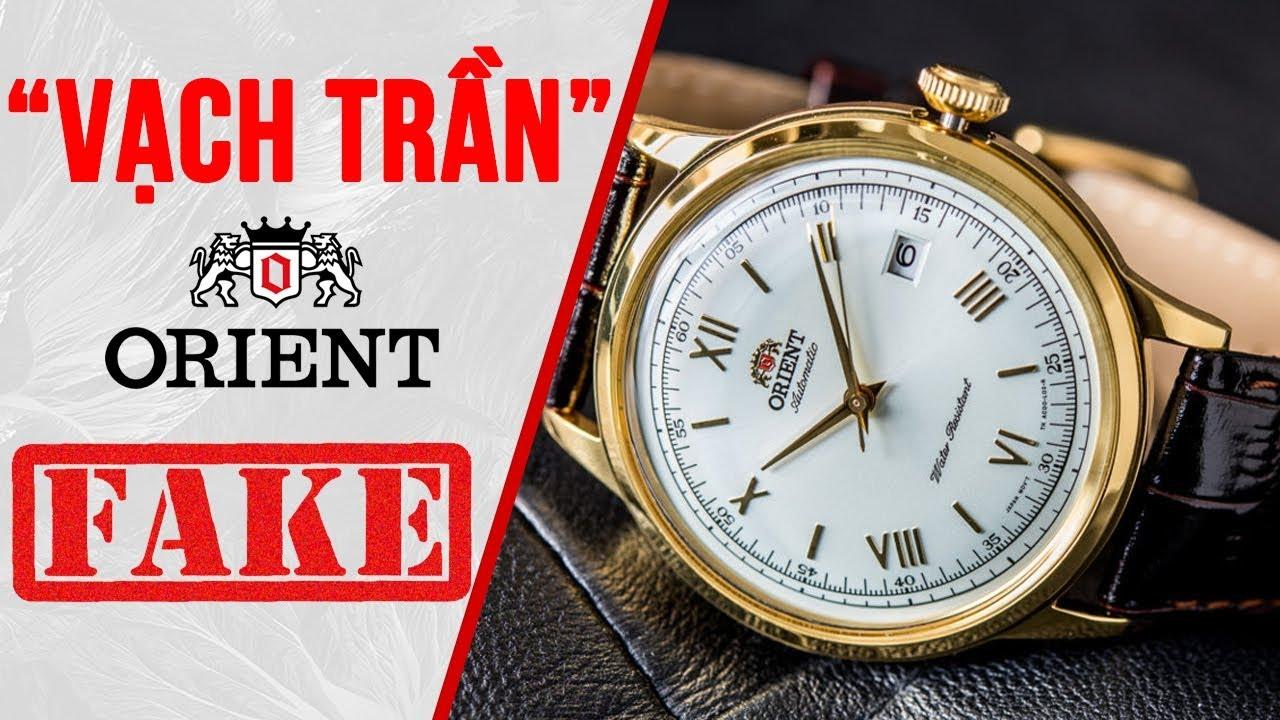 [VẠCH TRẦN] – Đồng hồ Orient bambino FAKE – SIÊU TINH VI – TopWatch.vn