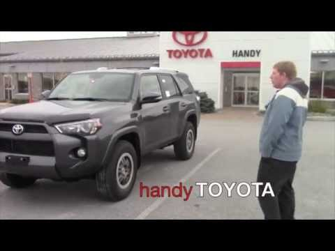 2015 toyota 4runner sr5 premium for zoe from david - youtube