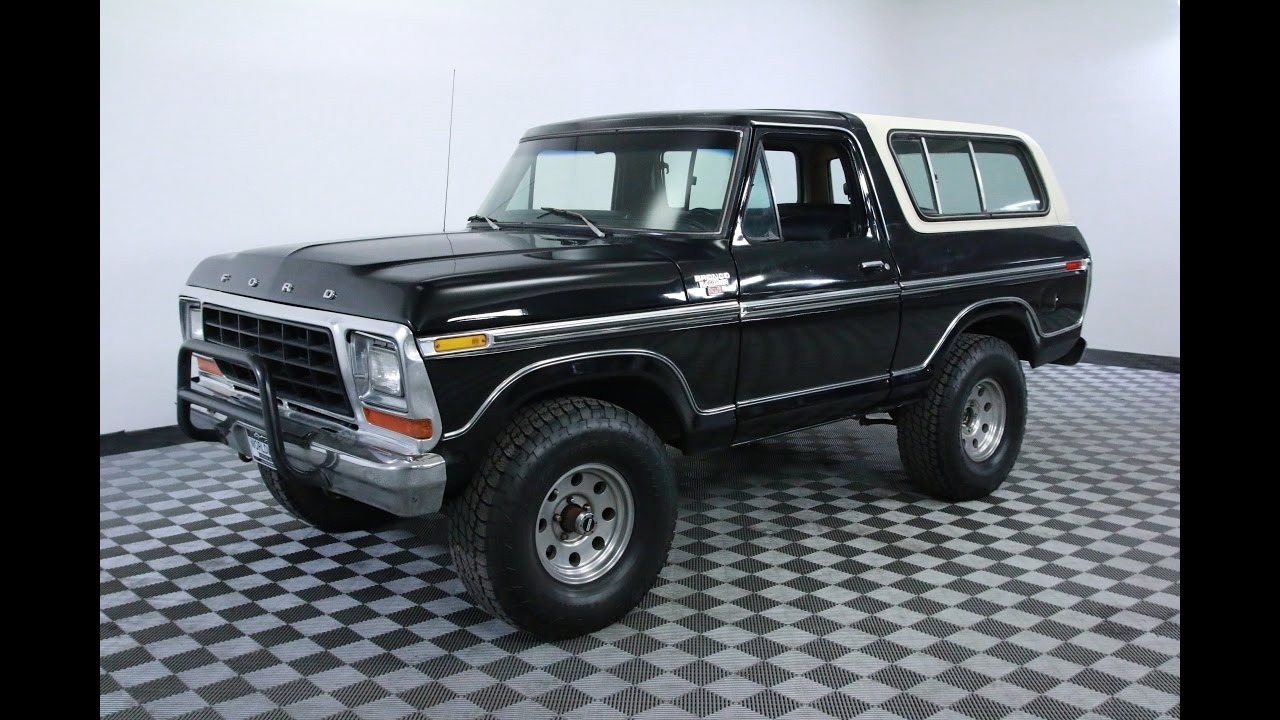1978 ford bronco youtube. Black Bedroom Furniture Sets. Home Design Ideas