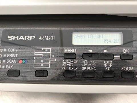 AR-M201 SHARP TREIBER WINDOWS 10