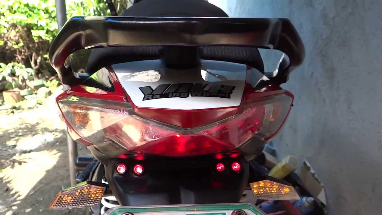Kymco Super 8 Led Backup Signal Light Quot Diy Quot Youtube