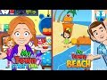My Town : Street Fun and My Town : Beach Picnic   Best Pretend Play App for kids