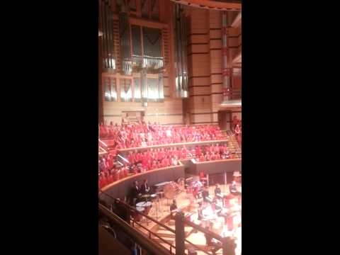 'Sing' by the Birmingham Primary Schools Choir