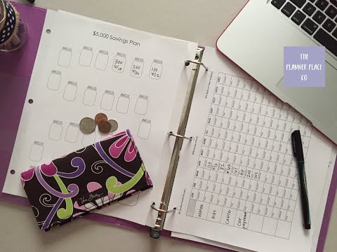 DIY Budget Binder & Expense/Savings Forms