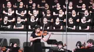 Shruthi Vivaldi Winter Solo w Shepton High School Orchestra
