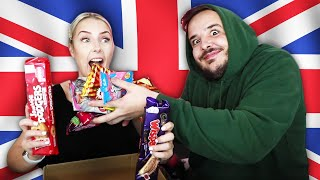 AUSTRALIANS Try BRITISH Snacks Pt. 2 (With Mully)