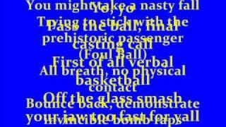 Jurassic 5 - The Game (With Lyrics)