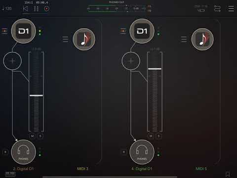 Digital D1 is finally AUv3 - thanks AudioKit - Demo