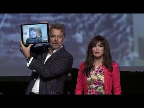 Marie Osmond and John Schneider Skype with CMN Hospitals Teen Ambassador