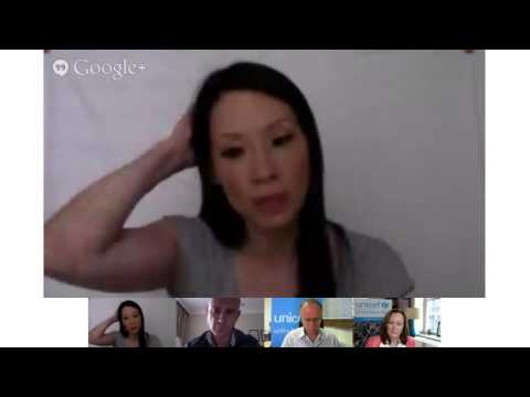 Google+ Hangout: Lucy Liu, on her Lebanon visit and the Syria Crisis' impact on children