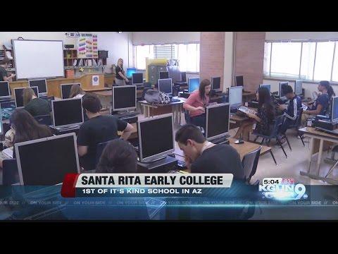 Graduate HS with a college degree? TUSD transforms Santa Rita HS