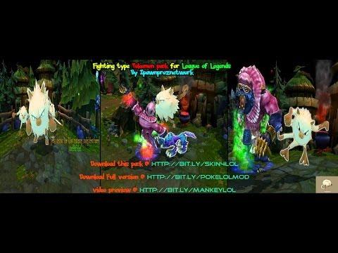 Fighting Type Pokémon Challenge - Jungle Pack - Sneak Peek Footage League Of Legends