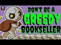 Don't Be A Greedy Amazon FBA Book Seller - Pricing Strategy & Selling Longtail Ranks Over 3 Million