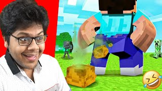 These MINECRAFT Videos Are EXTREMELY FUNNY 🤣   Ayush More
