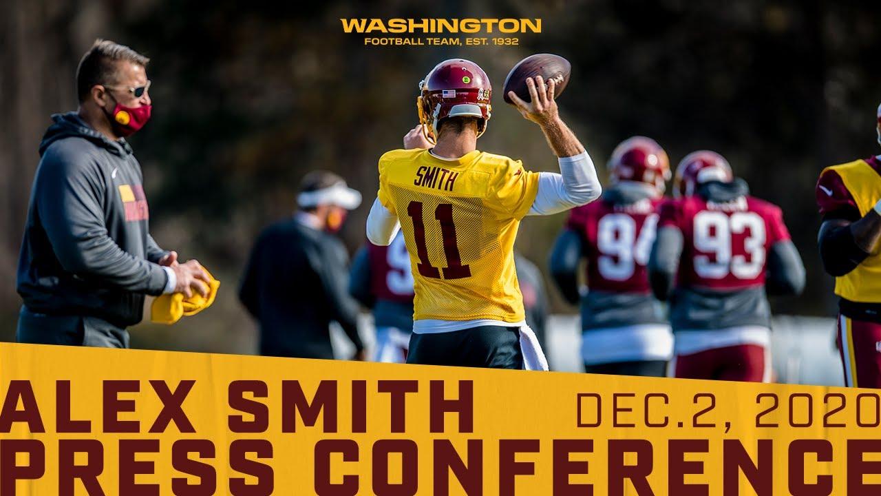Interview: Washington Football QB Alex Smith