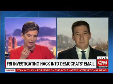 Glenn Greenwald speaks to us about what could be behind the Democratic Party being hack