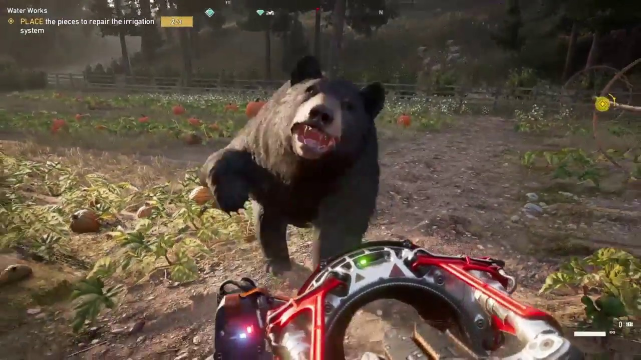 far cry 5 how to enter the statue