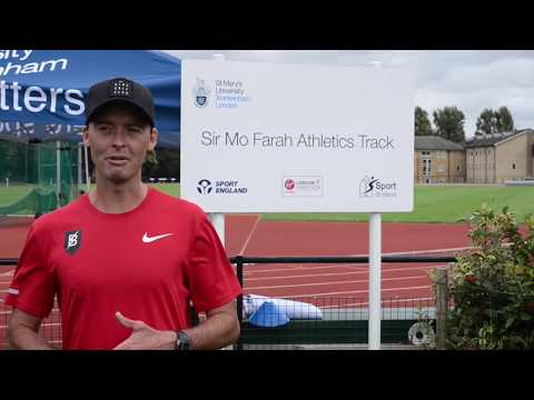 Alistair Cragg talks about training at St Mary