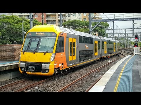 Sydney Trains Vlog 1267: Ashfield Part 2