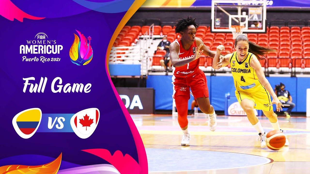 Colombia v Canada | Full Game - FIBA Women's AmeriCup 2021