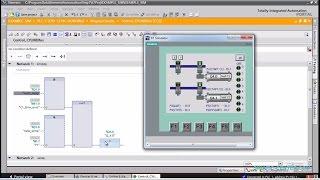 S7-1200 Программирование в режиме симуляции (Simulation & programming