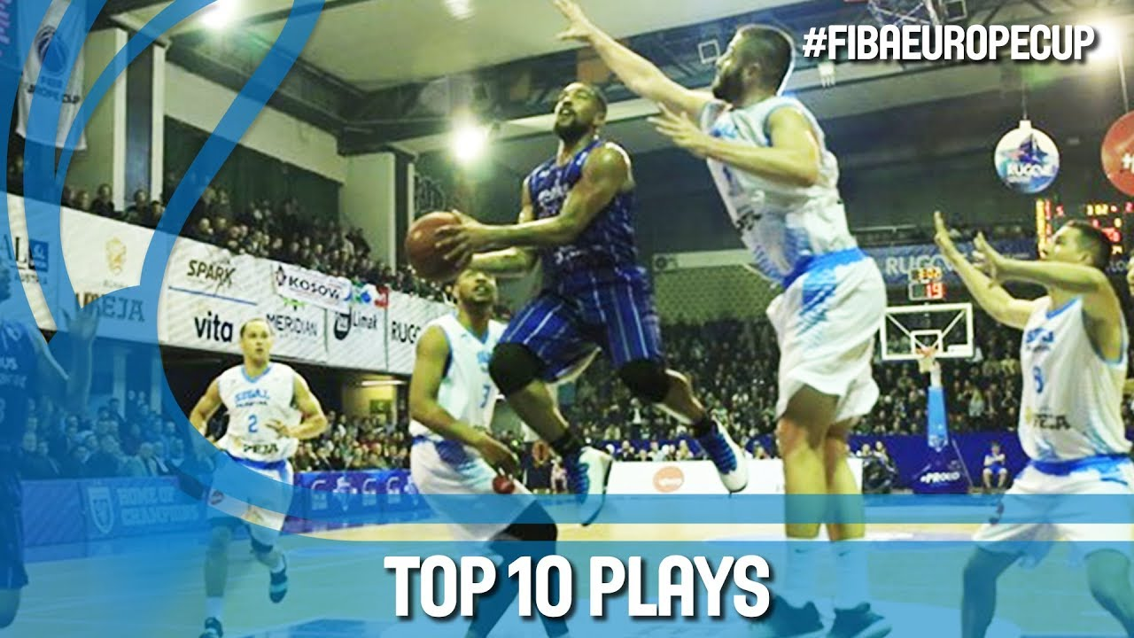 Top 10 Plays - Second Round - FIBA Europe Cup 2017-18